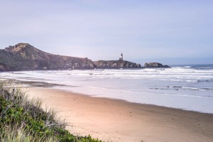 Beach at Newport, Oregon October 13, 2014