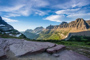 View From Logan's Pass