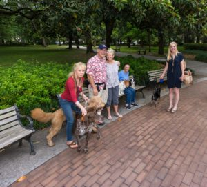 "The Savannah ""Doggie Gang"" - including the photographer!"