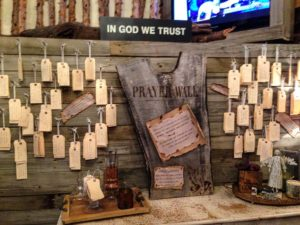 Prayer Request Wall - Franklin Tennessee
