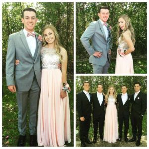 Madison and her Prom Friends